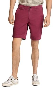 John Varvatos Johnny Cotton-Blend Solid Slim Fit Shorts