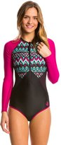 Body Glove Breathe Women's Ensenada Surface Long Sleeve One Piece Swimsuit 8138732