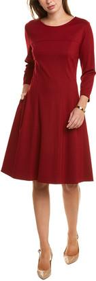 Sara Campbell Ponte A-Line Dress