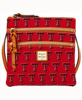 Dooney & Bourke Texas Tech Red Raiders Triple-Zip Crossbody Bag