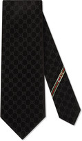 Gucci GG patterned silk tie