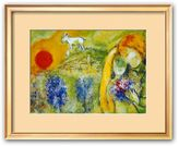 "Art.com Amoureux de Vence"" Framed Art Print by Marc Chagall"