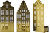 Pols Potten Waxinelight Tealight Holder - Set of 3 - Canal Houses
