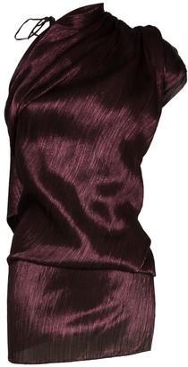 Roland Mouret Lyan one-shoulder twist top