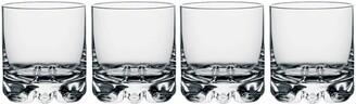 Orrefors Erik Set of 4 Double Old Fashioned Glasses