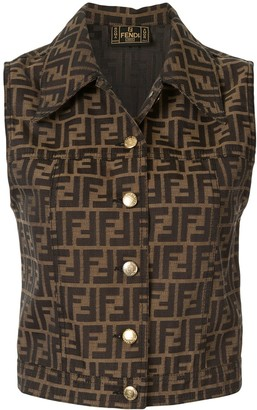 Zucca print waistcoat