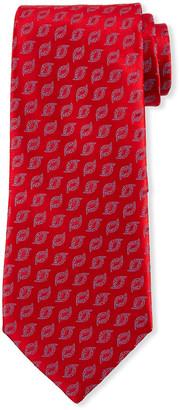 Charvet Men's Flame Silk Tie