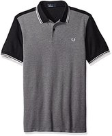 Fred Perry Men's Colour Block Textured Pique Shirt