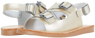 Freshly Picked Delray Sandal (Infant/Toddler/Little Kid) (Platinum) Girl's Shoes