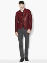 John Varvatos Burnished Leather Jacket