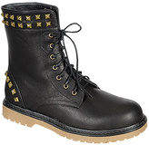 Black Studded Daily Boot