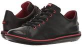Camper Beetle Lo-18648 (Black Leather) Men's Lace up casual Shoes