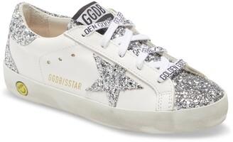 Golden Goose Super-Star Glitter Sneaker
