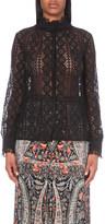 Vilshenko Ruth lace blouse