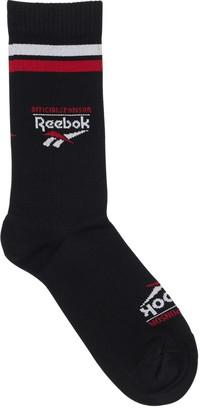 Reebok Classics Classics Graphic Intarsia Crew Socks