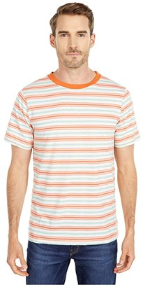 NATIVE YOUTH Ullevi T-Shirt (Orange) Men's Clothing