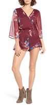 Band of Gypsies Women's Yoryu Bouquet Floral Romper