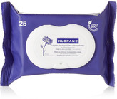 Klorane Makeup Remover Biodegradable Wipes With Soothing Cornflower X 25 - Colorless