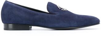 Roberto Cavalli RC monogram plaque loafers
