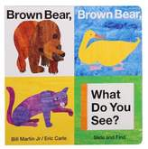 """Eric Carle """"Brown Bear, Brown Bear, What Do You See?"""" Slide & Find Book by Bill Martin Jr."""