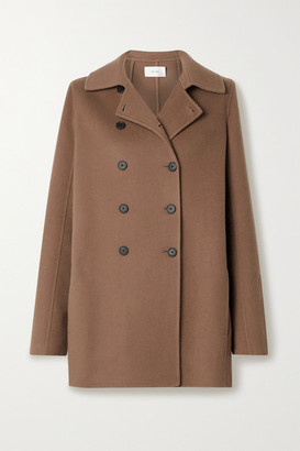 The Row Saku Double-breasted Cashmere Coat - Light brown