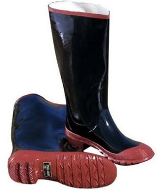 Wenzel Lined Rubber Knee Boots - Black - Size 7