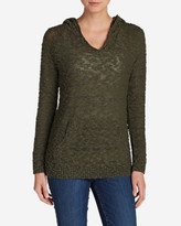 Eddie Bauer Women's Westbridge Hooded Sweater - Solid