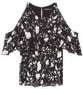 Polo Ralph Lauren Printed silk top