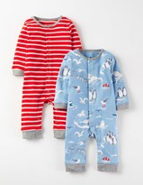 Boden Fun Twin Pack Rompers