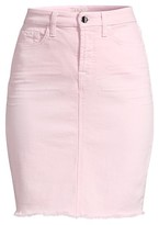 Thumbnail for your product : Jen7 Fray Hem Denim Pencil Skirt
