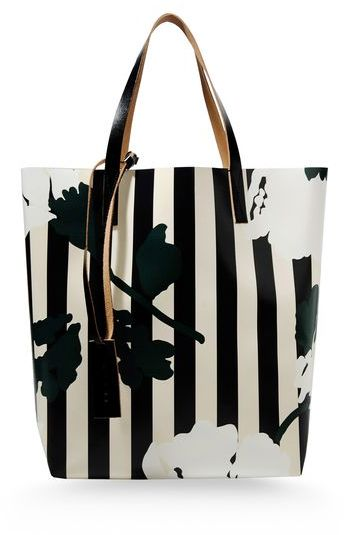 Marni Large fabric bag