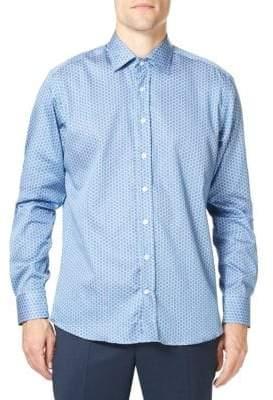 Etro Slim-Fit Paisley Button-Front Shirt