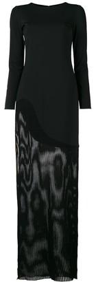 HANEY Josephine sheer dress