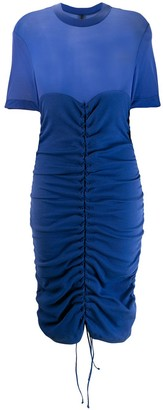 Unravel Project Short Ruched Dress