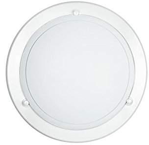 Fan Europe Round Ceiling Light E27, 60 W, White, 30 x 30