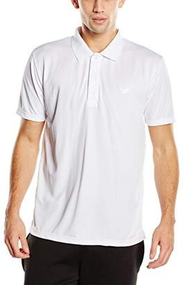 Trigema Men's Polo Shirt White Weiß (weiss 001)