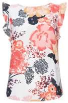 Wallis Cream Floral Print Shell Top