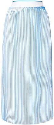 Victoria Victoria Beckham Midi Pleated Skirt