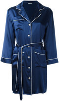 P.A.R.O.S.H. wrap over robe - women - Silk - XS