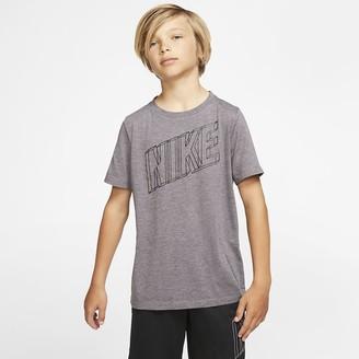 Nike Big Kids' (Boys') Short-Sleeve Graphic Training Top Breathe