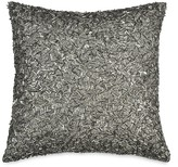 "Donna Karan Exhale Beaded Decorative Pillow, 12"" x 12"""