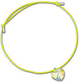 Lucky You Yellow Heart Rivoli Bracelet