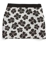 Milly Minis Girl's Metallic Jacquard Miniskirt