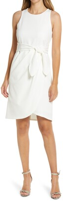 Julia Jordan Sleeveless Sheath Dress
