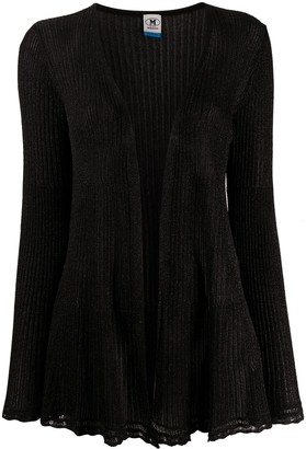 Missoni Ribbed Knit Open Front Cardigan