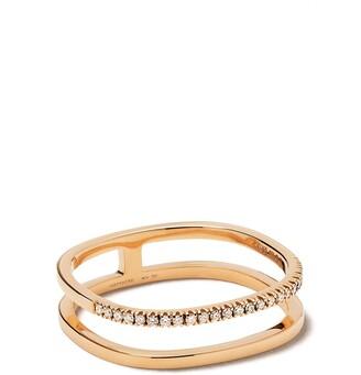 VANRYCKE 18kt rose gold Charlie diamond ring
