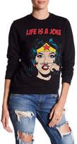 Eleven Paris ELEVENPARIS 'Life is a Joke' Wonder Woman Sweatshirt