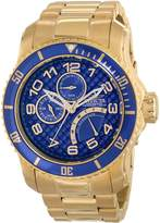 Invicta Men's 15342 Pro Diver Analog Display Japanese Quartz Gold Watch