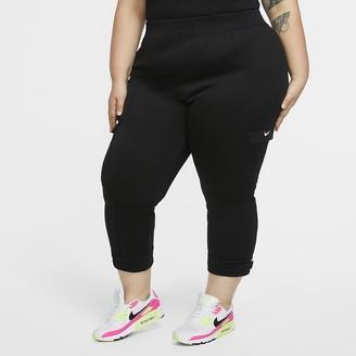 Nike Women's Polyknit Pants (Plus Size Sportswear Swoosh