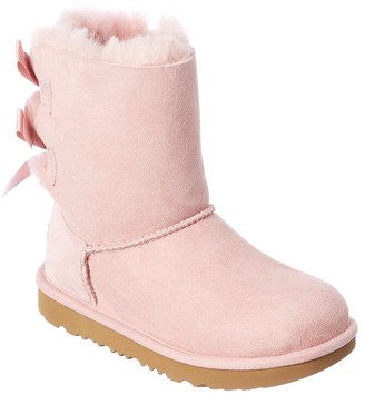 UGG Kids Bailey Bow Ii Suede Boot
